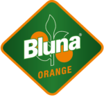 Logo_Bluna-Orange_Raute_CMYK